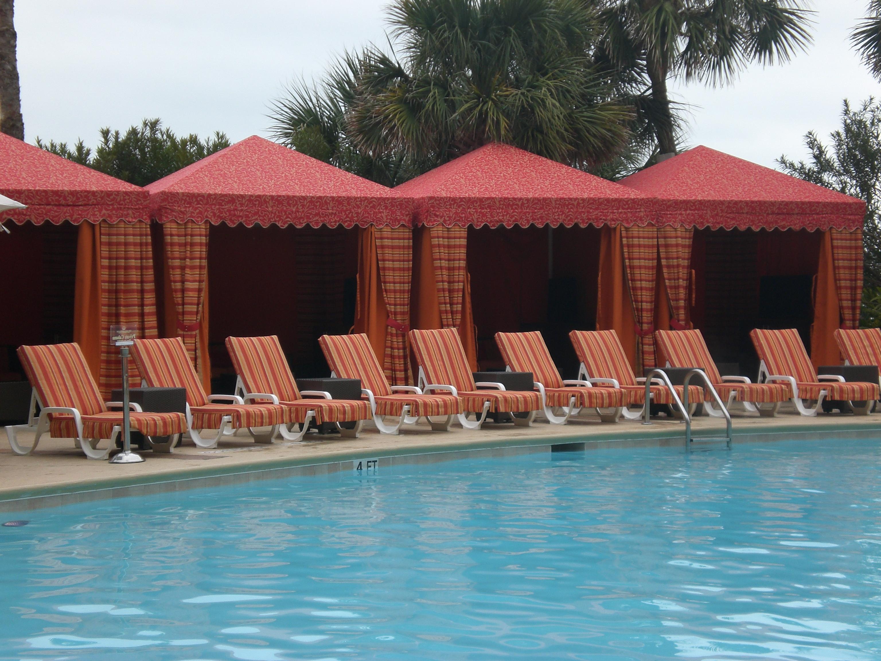 Custom products for Custom pool cabanas